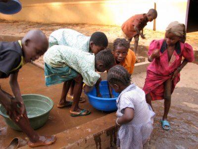 Projekty v Africe